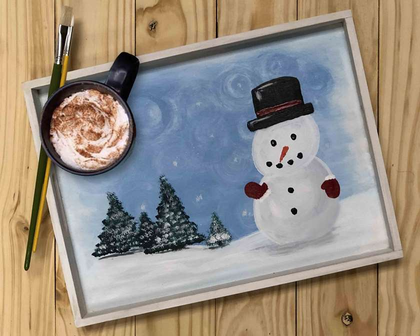 Snuggly Snowman