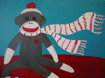 Sock It To Me Monkey