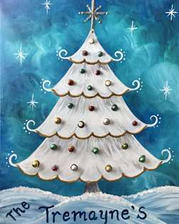Sparkle and Glitter Christmas Tree