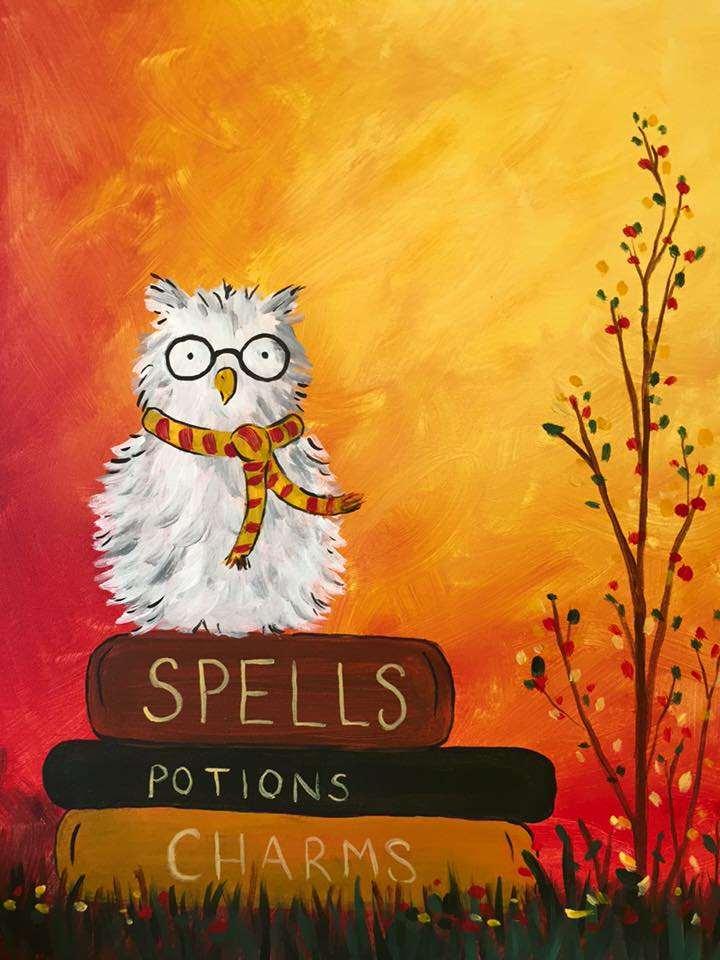 """""""spellbound scholar"""" with Artist Hannah"""