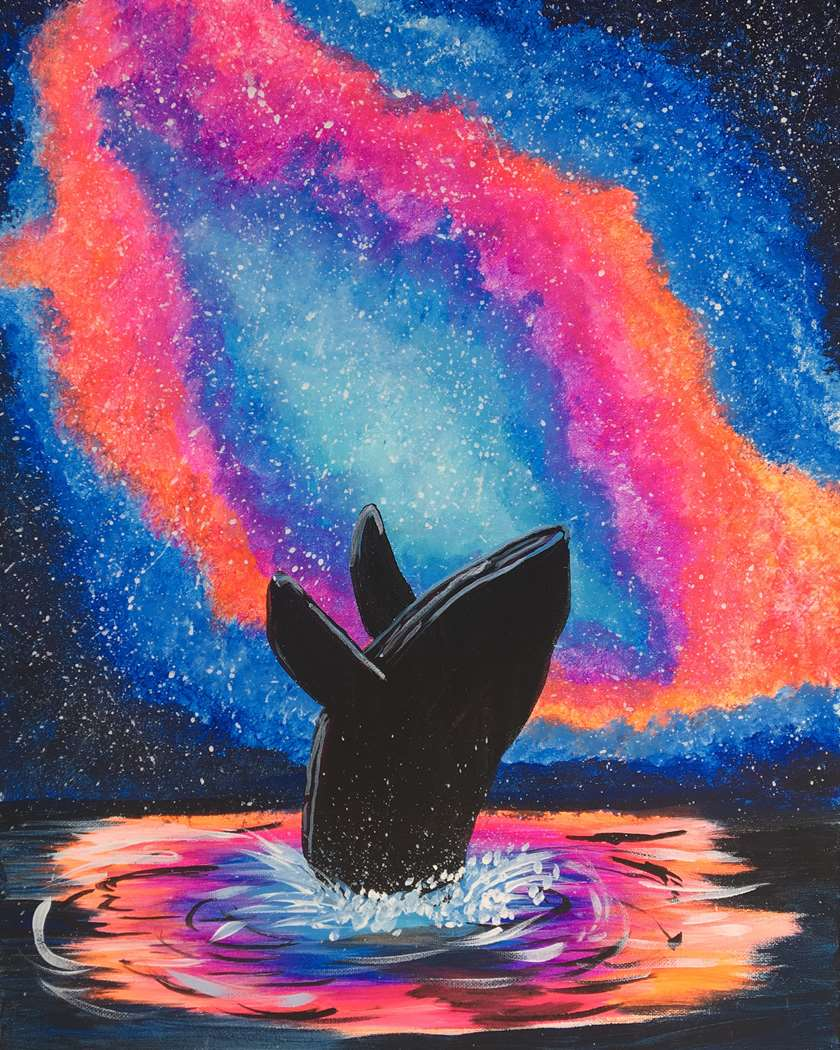 Splash in the Cosmos