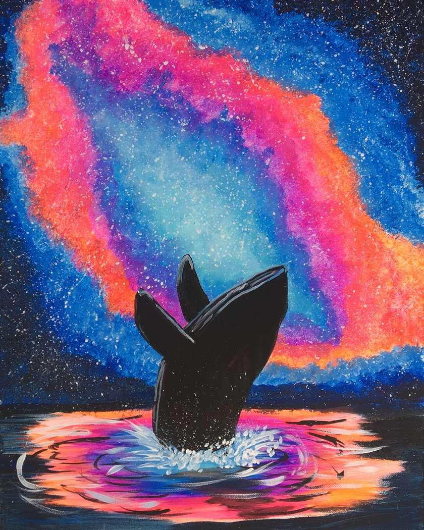 Splash in the Cosmos
