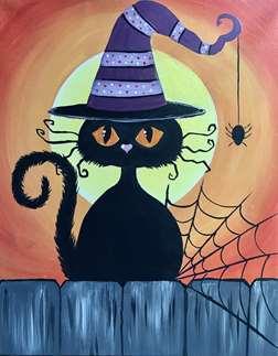 Spooky Kooky Cat
