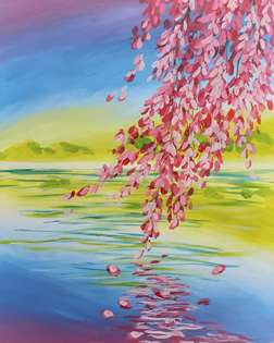 Spring Branch over the Water