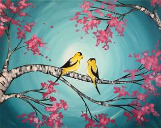 Spring Finches
