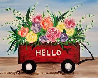 Spring Harvest Wagon