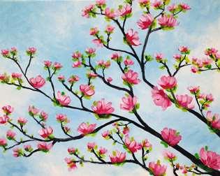 Spring Magnolias
