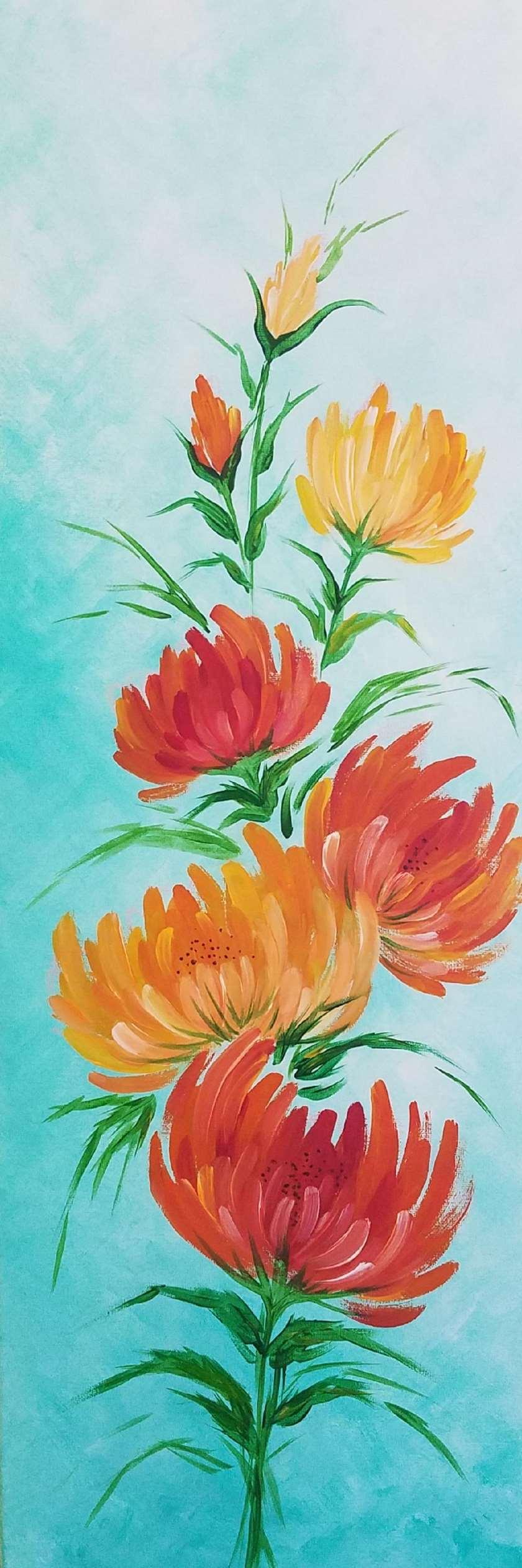 Spring Orange Blossoms