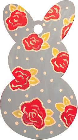 Spring Time Bunny Door Hanger