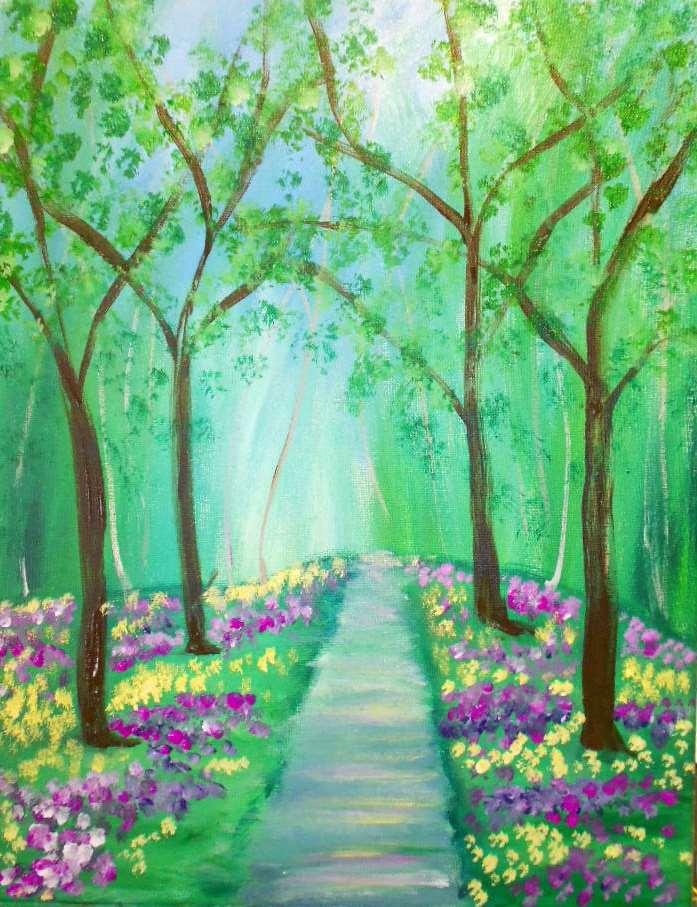 Spring's Path
