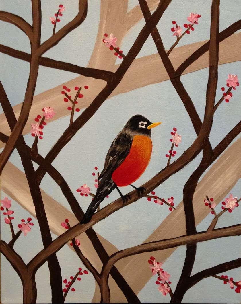 Spring's Robin