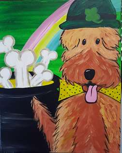 St. Paddy's Puppy