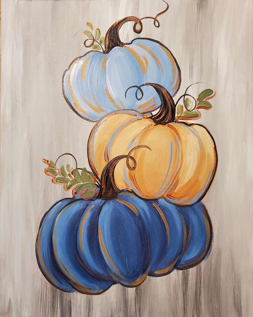 Stacking Pumpkins