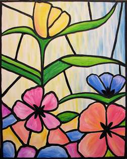 Stained Glass Garden