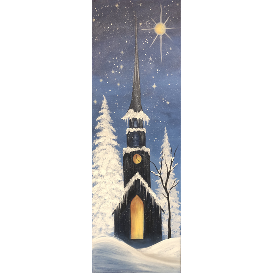 10 x 30 Canvas!  Star Bright