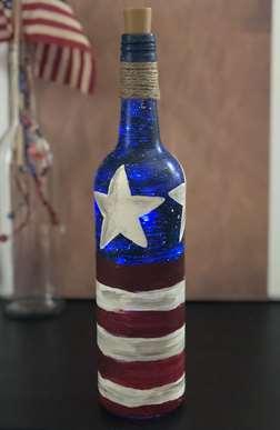 Star Spangled Bottle