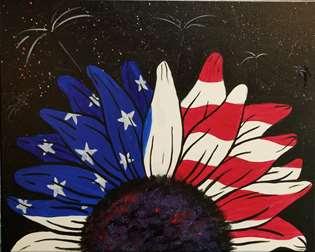 Star Spangled Sunflower