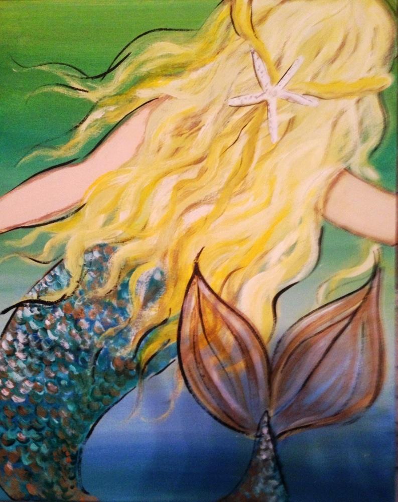 Starfish Dreams Mermaid