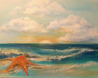 Starfish Sunset