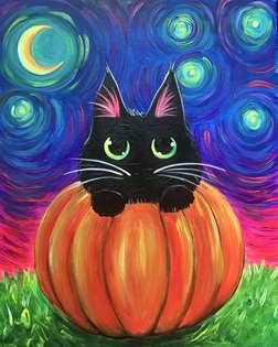 Starry Eyed Kitty