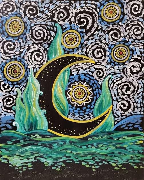 Starry Moon