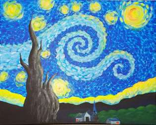 Starry Night Aglow