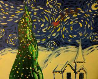 Starry Night Before Christmas