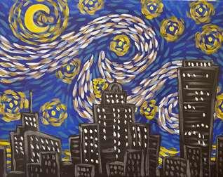 Starry Night Buffalo