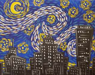 Starry Night Buffalo