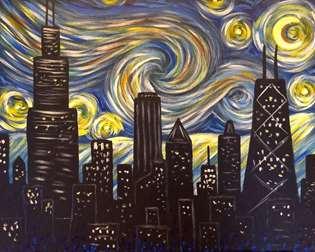 Starry Night Chicago