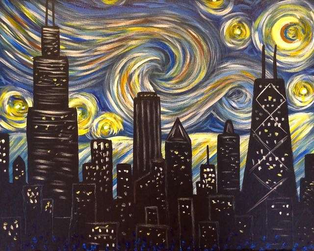 Starry Night Chicago -  Live Virtual Event or Watch Recording Later