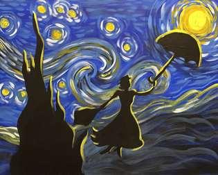 Starry Night Flight