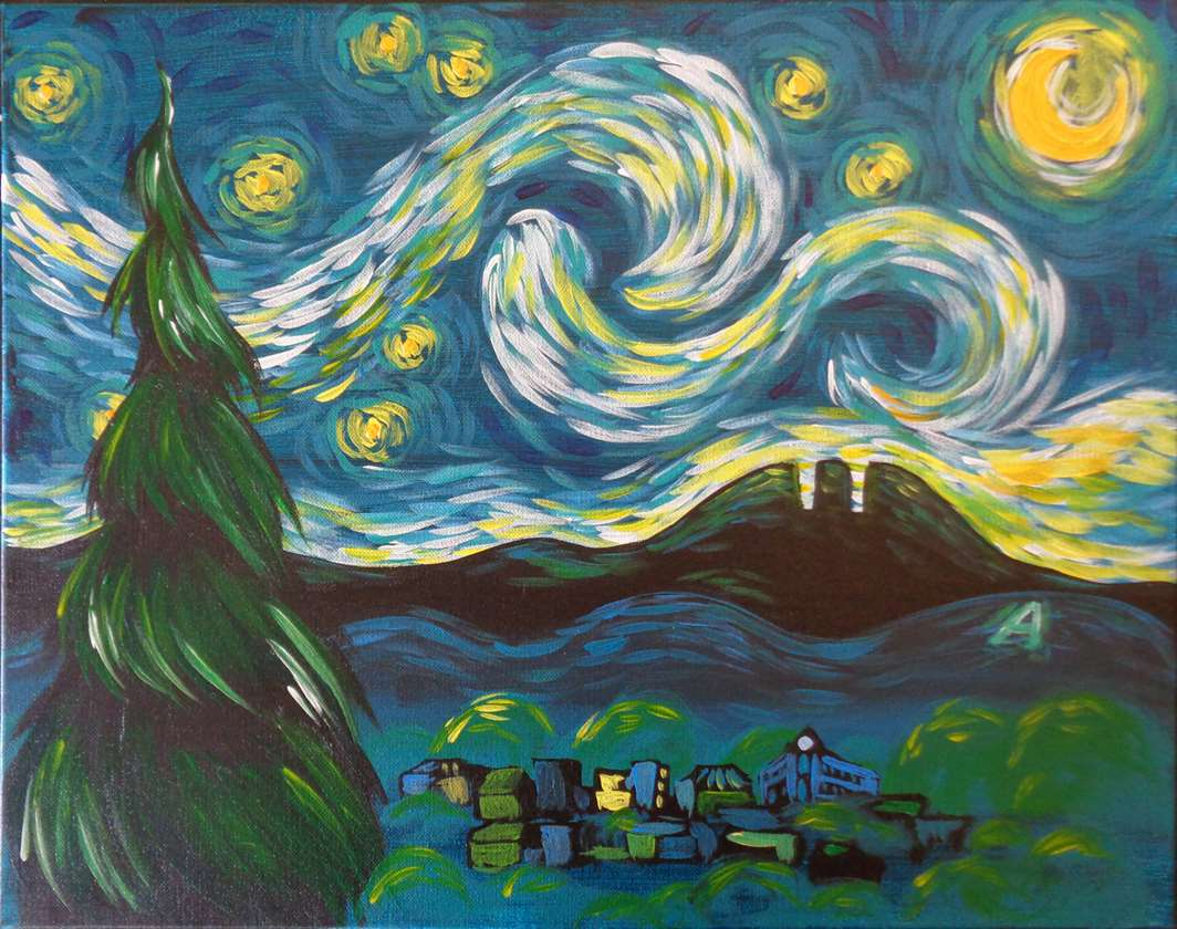 Starry Night Fort Collins