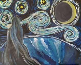 Starry Night Galaxy