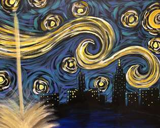 Starry Night in Omaha