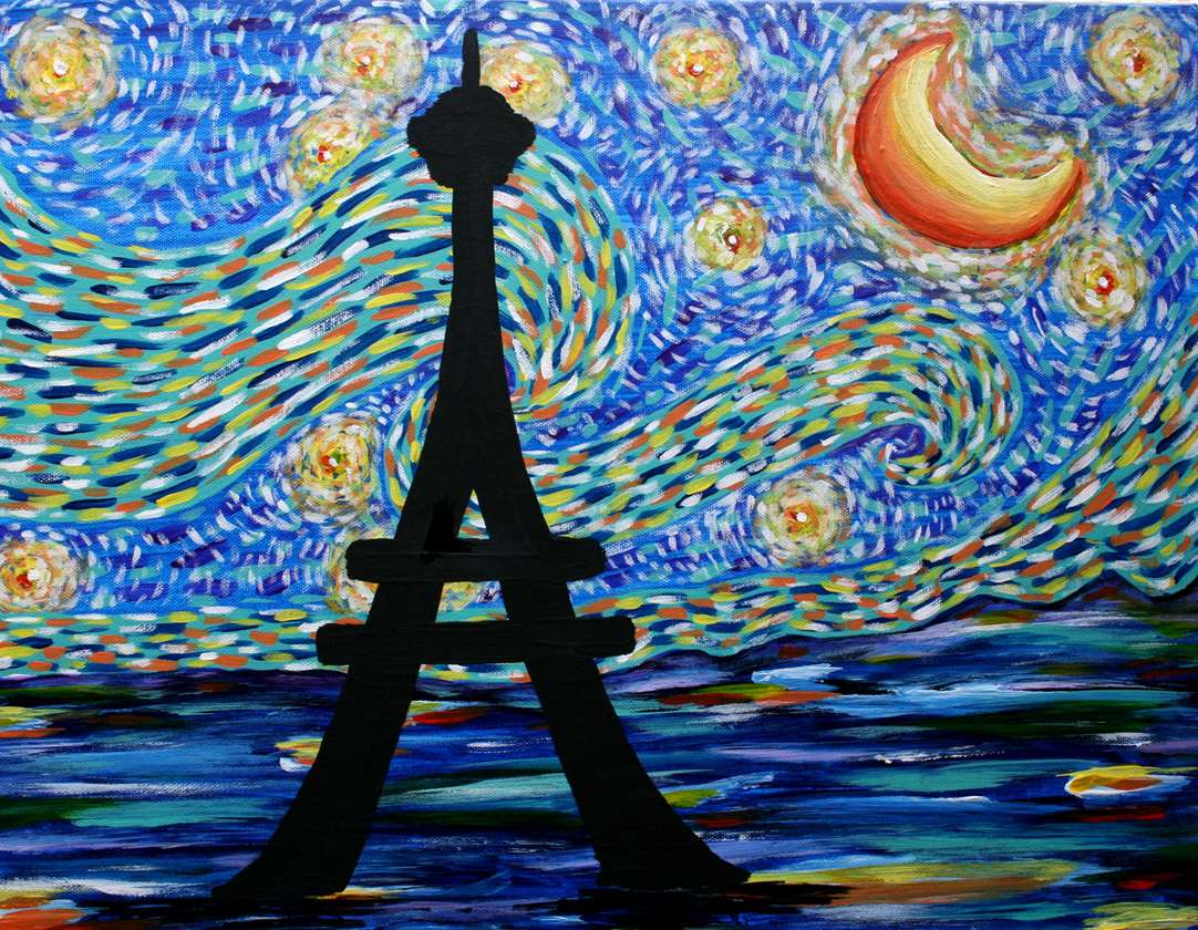 Starry Night in Paris