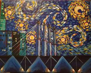 Starry Night in the City
