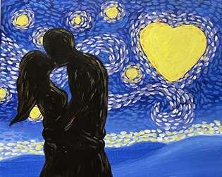Starry Night Kisses