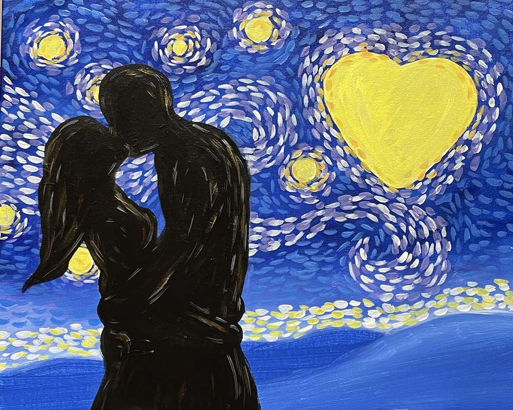 Starry Night Kisses