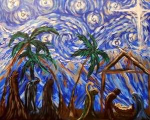Starry Night Nativity