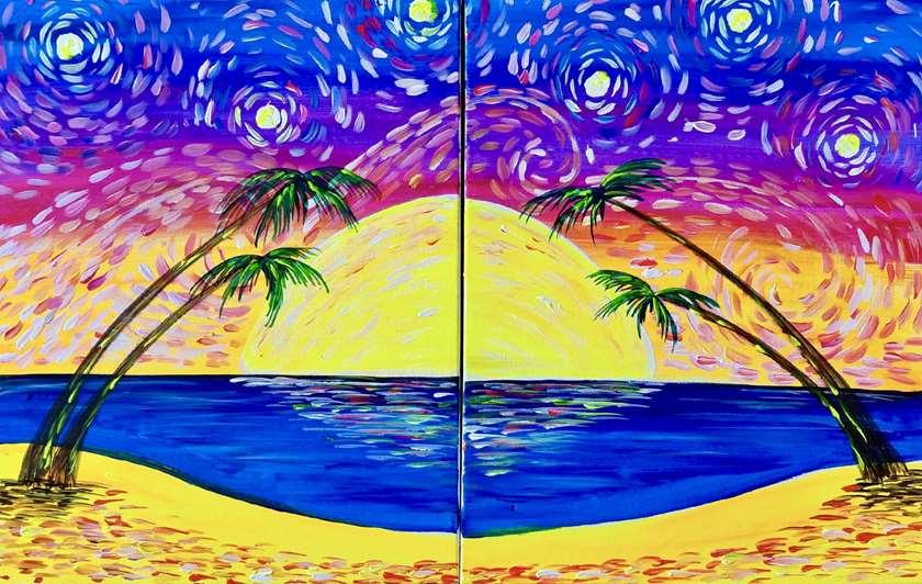 Starry Night on the Beach Date Night!