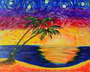 Starry Night on the Beach