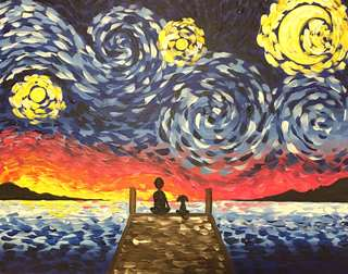 Starry Night on the Dock