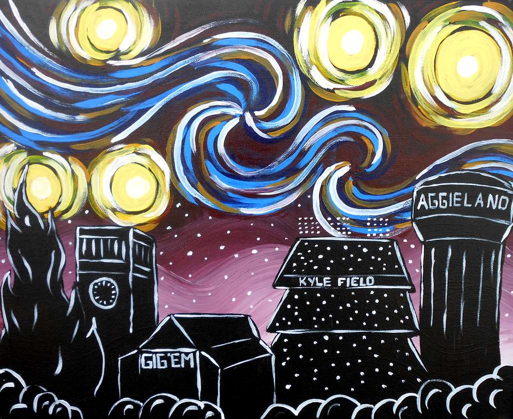 Starry Night Over Aggieland