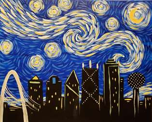 Starry Night Over Dallas