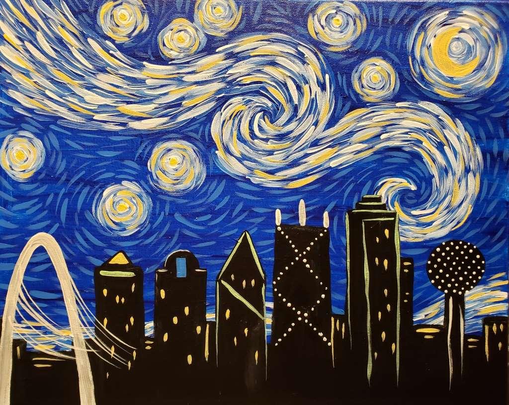 Starry Night Over Dallas