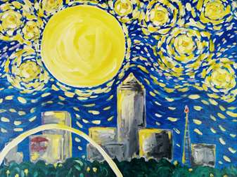 Starry Night Over Des Moines