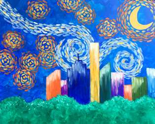 Starry Night Over Houston
