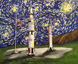 Starry Night Over Huntsville