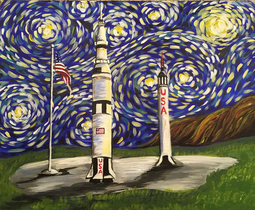 Starry Night Over Huntsville